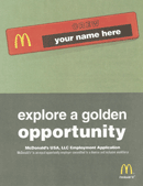 McDonalds Application Form