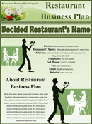 Restaurant Business Plan Sample 1