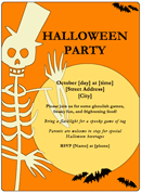 Halloween Party Flyer 1