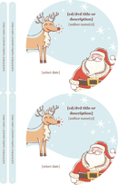 Christmas CD Label Template form