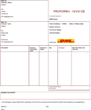 dhl proforma invoice download invoice template for free pdf or word. Black Bedroom Furniture Sets. Home Design Ideas