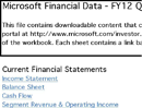 Income Statement and Balance Sheet Template