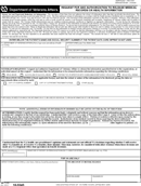Request for and Authorization to Release Medical Records form