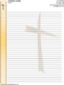Church Letterhead Template 1