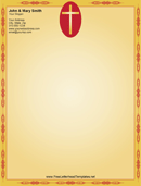 Church Letterhead Template 3