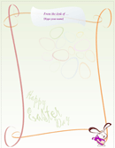 Holiday Letterhead Template 2