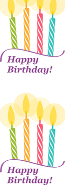 Birthday Card Template 3 form