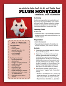 Plush Monster Template