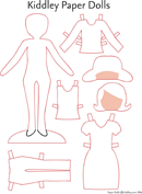 Kiddley Paper Dolls