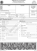 Application for Travel Document