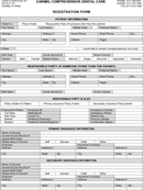 Patient Registration Form 3