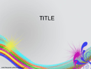 Rainbow Colors PowerPoint Template