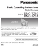 Panasonic Operation Manual Sample