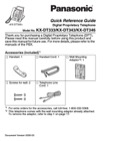 Panasonic Reference Guide Sample