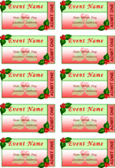 Event Ticket Template 1